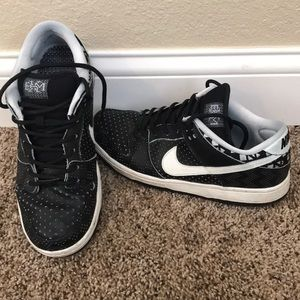 "Nike Dunk Low Premium SB ""BHM"" men's size 9.5"